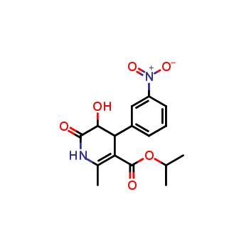 propan-2-yl-5-hydroxy-2-methyl-2-4-(3-nitrophenyl)-6-oxo-1,4,5,5-tetraahydropyridine-3-carboxylate