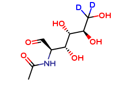 2-Deoxy-2-acetamido-D-​Glucose-6,6-d2