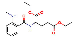 (S)-diethyl 2-(2-(methylamino)benzamido)pentanedioate