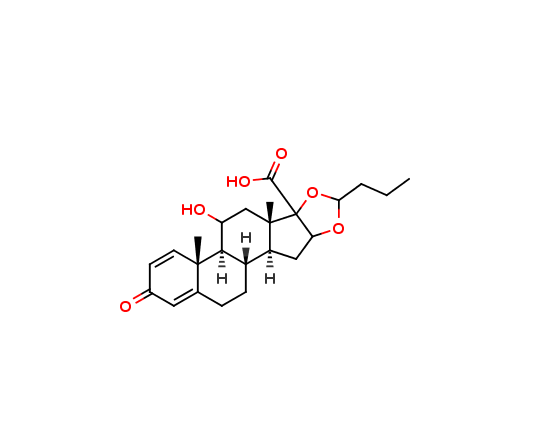 17-Carboxy Budesonide