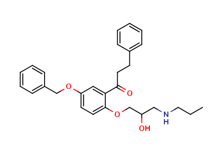 5-Benzyloxy Propafenone
