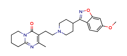 6-Desfluoro-6-methoxy Risperidone