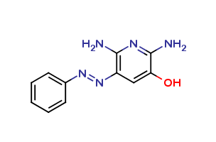 2,6-Diamino-5-hydroxy-3-(phenylazo)pyridine