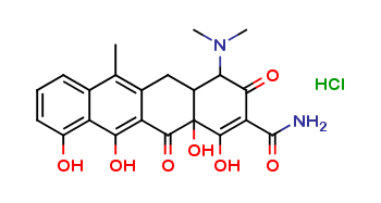 4-Epianhydrotetracycline Hydrochloride
