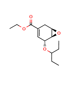 Ethyl (3R,4S,5S)-4,5-Epoxy-3-(1-ethylpropoxy)cyclohex-1-ene-1-carboxylate