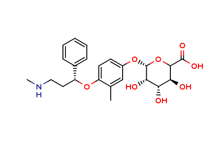 4'-Hydroxy Atomoxetine-β-D-Glucuronide