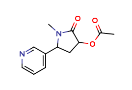 trans-3'-Hydroxy Cotinine Acetate