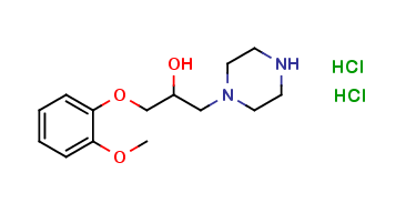 α-[(2-Methoxyphenoxy)methyl]-1-piperazineethanol Dihydrochloride