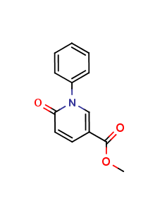 Methyl 5-Carboxy-N-phenyl-2-1H-pyridone
