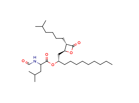 5-Methylhexyl Orlistat Decyl Ester