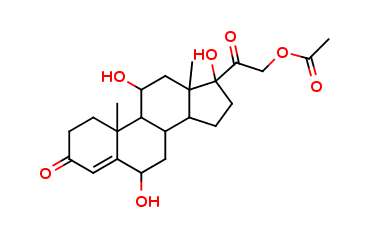 21-O-Acetyl 6a-Hydroxy Cortisol