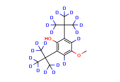 Dibutylated Hydroxyanisole-d20