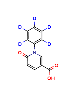 5-Carboxy-N-phenyl-2-1H-pyridone D5