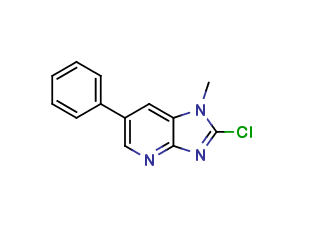 2-Chloro-1-methyl-6-phenylimidazo[4,5-b]pyridine