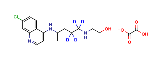 Cletoquine-d4 Oxalate