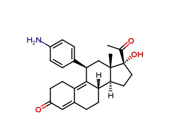 N,N-Didesmethyl Ulipristal