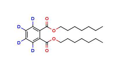Di-n-heptyl Phthalate D4