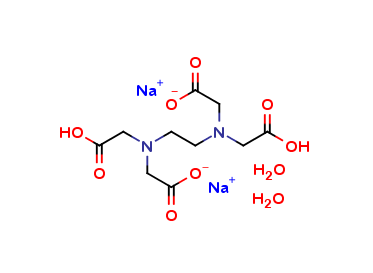 Ethylenediamine-N,N,N,N-tetraacetic Acid Disodium Dihydrate