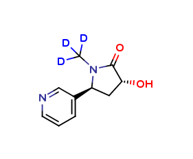 trans-3'-Hydroxy Cotinine D3