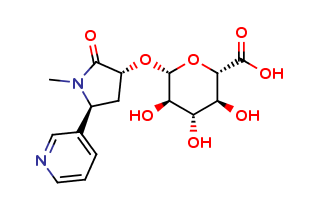 trans-3-Hydroxy Cotinine O-β-D-Glucuronide