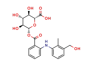 3-Hydroxymethyl Mefenamic Acid Acyl-β-D-glucuronide