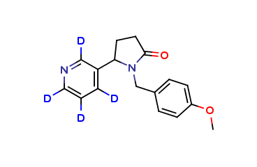 N-(4-Methoxybenzyl)cotinine D4