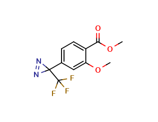 2-Methoxy-4-[3-(trifluoromethyl)-3H-diazirin-3-yl]benzoic Acid, Methyl Ester