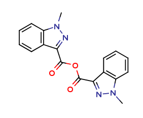 1-Methyl-1H-indazole-3-carboxylic Acid Anhydride