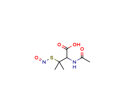 S-Nitroso-N-acetyl-D-β,-β-dimethylcysteine