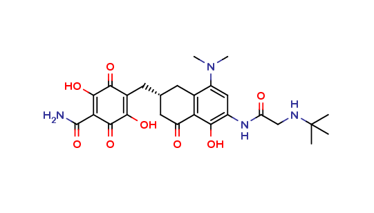 Tigecycline (open C-ring D-ring) Quinone