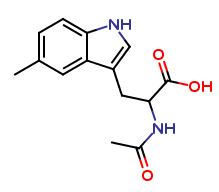 N-Acetyl-5-methyl-dl-tryptophan