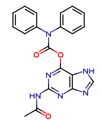 N2-Acetyl-O6-diphenylcarbamoylguanine
