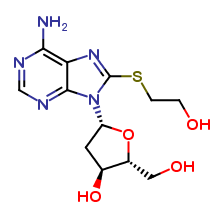 2'-Deoxy-8-[(2-hydroxyethyl)thio]-adenosine