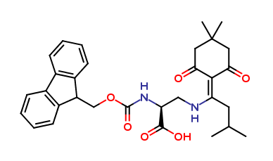 N-α-Fmoc-N-β-(4,4-dimethyl-2,6-dioxocyclohex-1-ylidene)-3-methylbutyl-L-2,3-diaminopropionic Acid