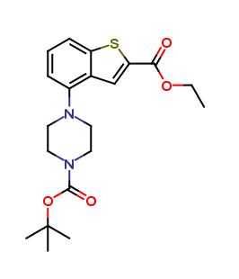 Ethyl 4-(4-Boc-piperazin-1-yl)benzo[b]thien-2-carboxylate
