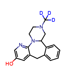 8-Hydroxy Mirtazapine D3