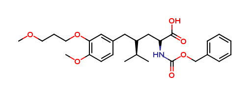 (αS,γS)-4-Methoxy-3-(3-methoxypropoxy)-γ-(1-methylethyl)-α-[[(phenylmethoxy)carbonyl]amino]benzenepentanoic Acid
