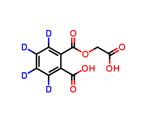 Mono(carboxymethyl) Phthalate D4