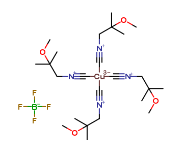 Tetrakis (2-Methoxyisobutylisonitrile) Copper (I) Tetrafluoroborate