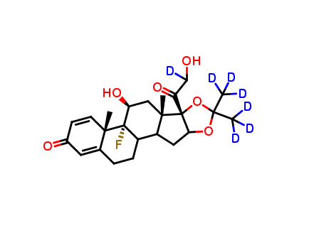Triamcinolone Acetonide-d7 (major)