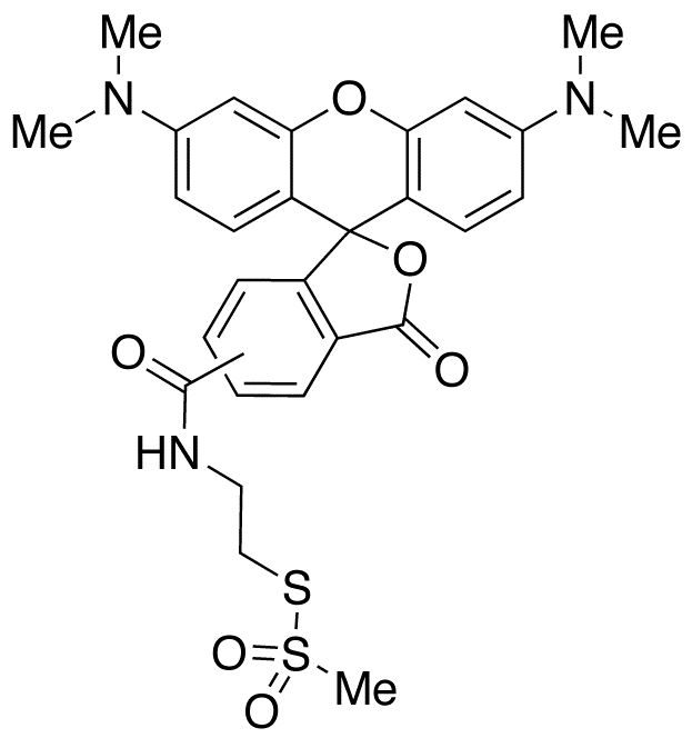 2-((5(6)-Tetramethyl-rhodamine)carboxylamino)ethyl Methanethiosulfonate