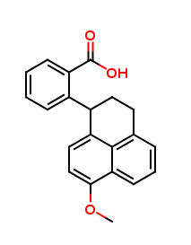 2-(2,3-Dihydro-7-methoxy-1H-phenalen-1-yl)-benzoic Acid