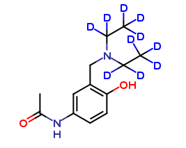 3-Diethylamino Acetaminophen D10