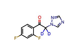 2,4-Difluoro-a-(1H-1,2,4-triazolyl)acetophenone D2