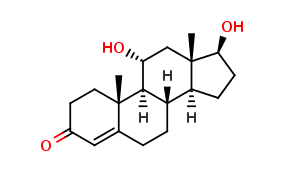 4-ANDROSTEN-11a, 17-β-DIOL-3-ONE, cas NA
