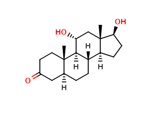 5a-ANDROSTAN-11a, 17-β-DIOL-3-ONE, cas 25788-56-1