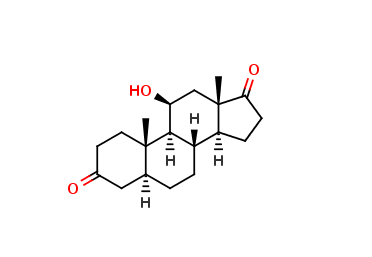 5a-ANDROSTAN-11-β-OL-3, 17-DIONE