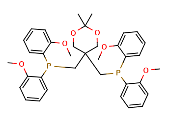 5,5-Bis[bis(2-methoxyphenyl)phosphinomethyl]-2,2-dimethyl-1,3-dioxane