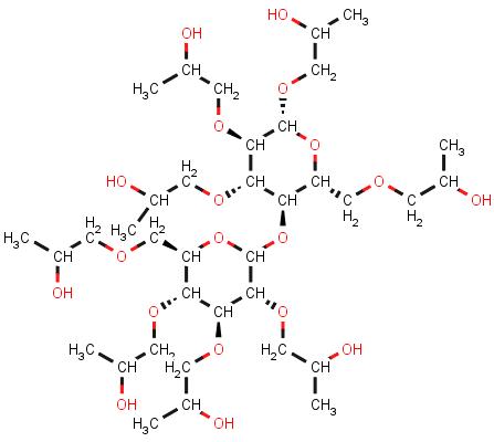 Hydroxypropyl cellulose, cas 9004-64-2