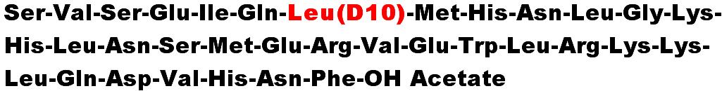 Teriparatide D10 Acetate